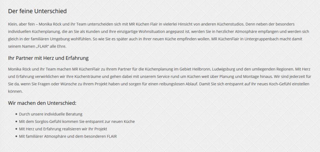 Ihr Küchenstudio aus Freiberg (Neckar)